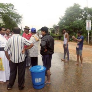 Caritas giving emergency help to Sri Lanka flood and landslide survivors