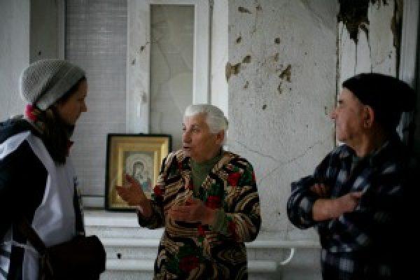 Vida en la línea de frente en Ucrania