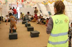 Education for displaced Iraqi children