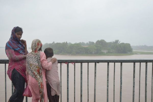 Cientos de pueblos inundados en Pakistán