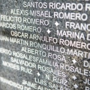 San Salavador on eve of Romero beatification