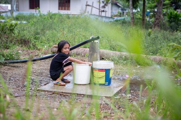 Agua potable después del Haiyan
