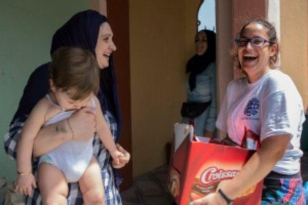 Organizando a las comunidades para ayudar a los refugiados en Grecia