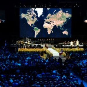 Global day of prayer for Syria with Pope Francis in Sweden