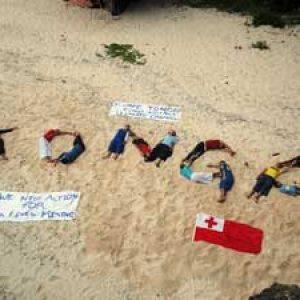 Tonga, une petite  voix forte qui se fait entendre lors de la conference sur le changement climatique a Lima