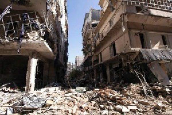Detengan el bombardeo en Alepo