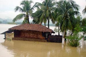 Inundaciones en India y Bangladesh