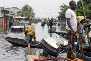 """""""We haven't really seen anything like this before"""": Benin hit by floods"""