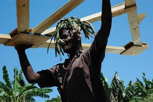 Primeras señales de reconstrucción en Haití