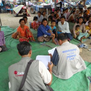 Helping families caught in Thai-Cambodia conflict