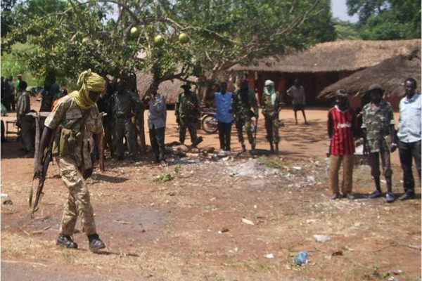 Central Africa Republic slides into chaos