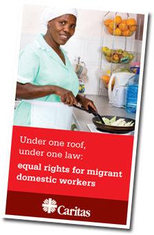 Campagne pour les travailleurs domestiques migrants