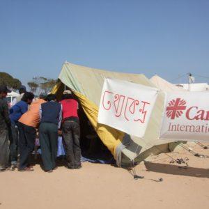 Les migrants coincés dans les camps aux frontières libyennes attendent avec impatience de rentrer chez eux