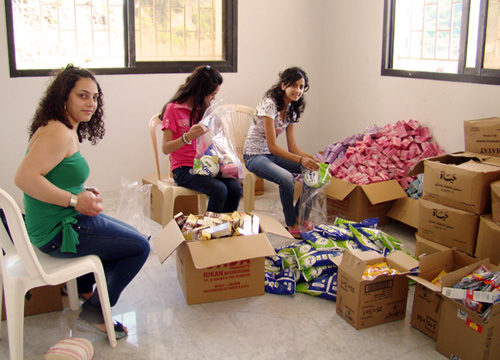 Caritas aids Syrian refugees in Lebanon, Jordan
