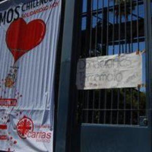 Le séisme au Chili