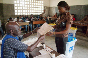 Caritas Congo prête à intervenir en cas de problèmes à l'annonce des résultats de l'élection présidentielle.