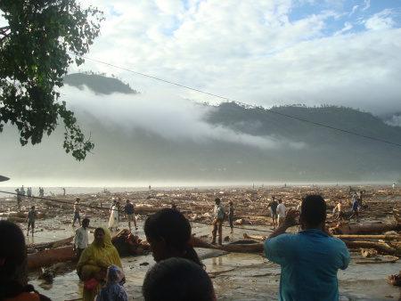 Caritas reaching flood hit North India