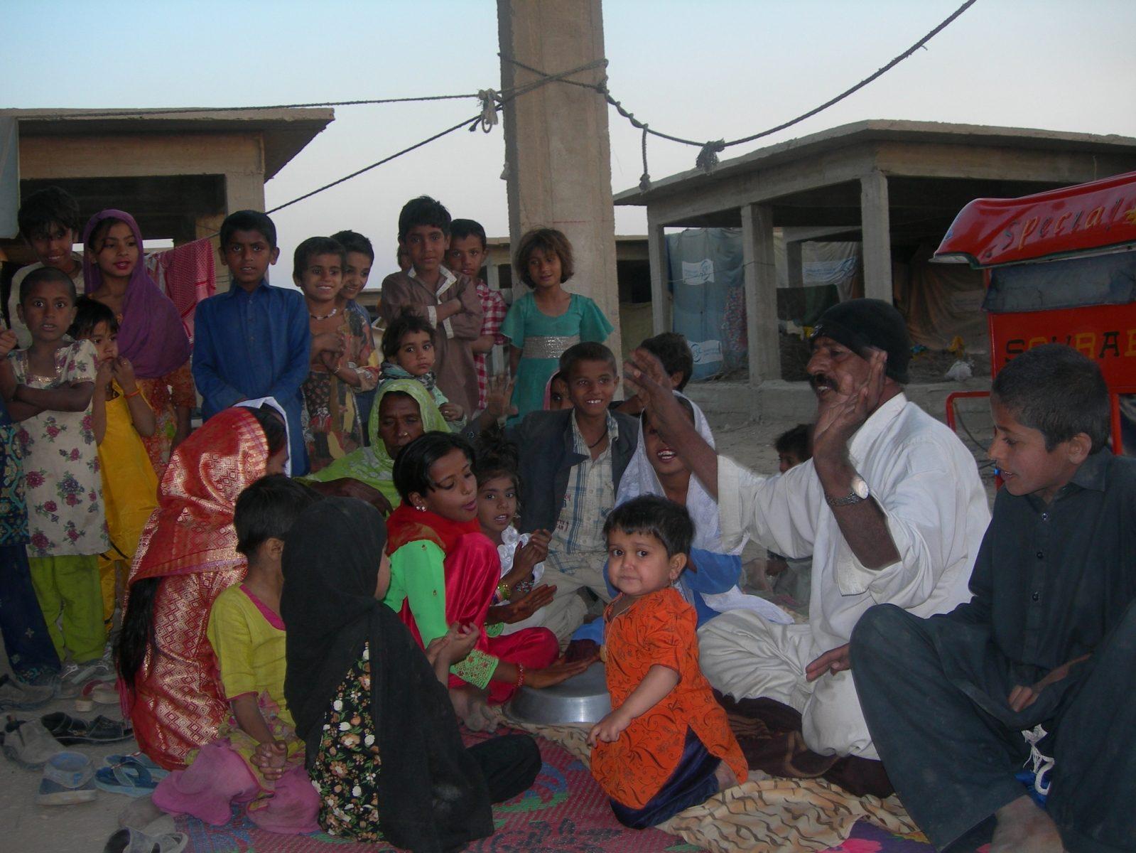 Caritas Pakistan shares joys with flood victims
