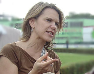 Erica Dahl-Bredine, Mexico Country Representative for Catholic Relief Services during the Tabasco Flood