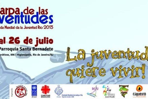 Eventos de Caritas en la Jornada Mundial de la Juventud