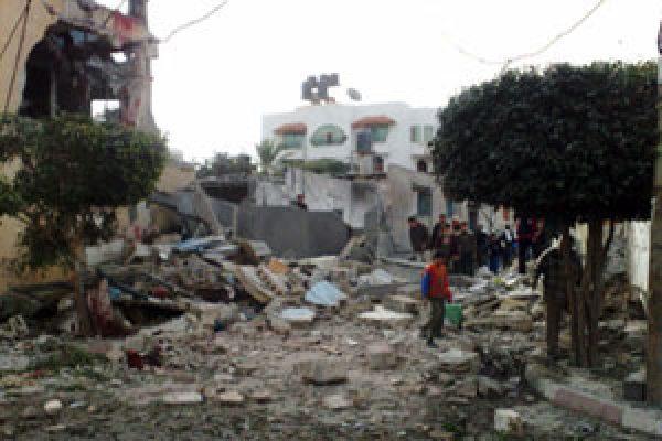 Une aide spirituelle et matérielle pour les Gazaouis