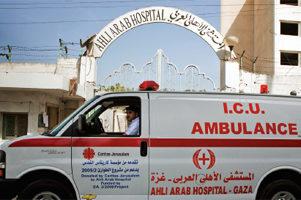 Soins de santé en zone de guerre