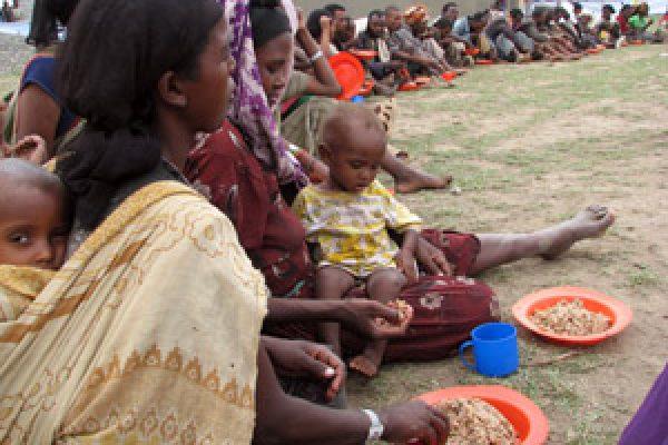 Les églises alertent le G8 : Un milliard de personnes menacées de famine