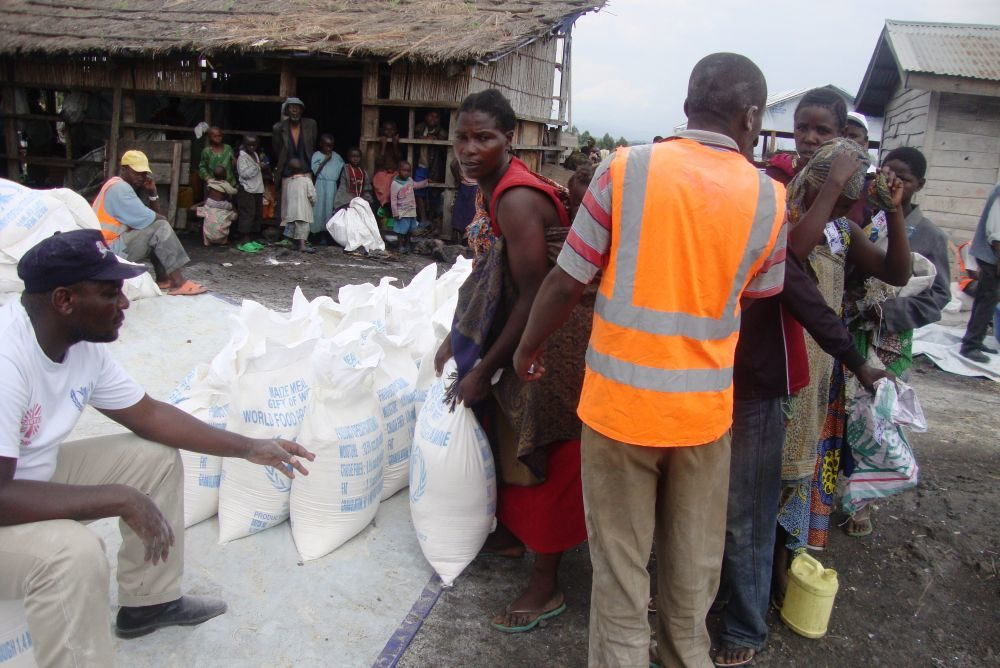 Caritas aid gets through to Congo camps