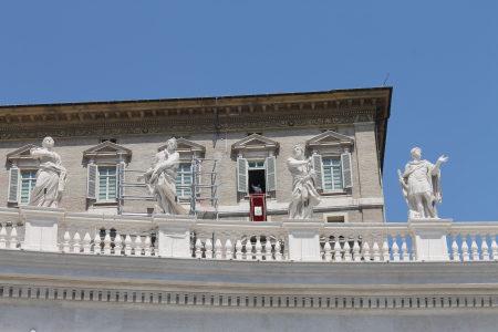 La ventana del Papa Francisco