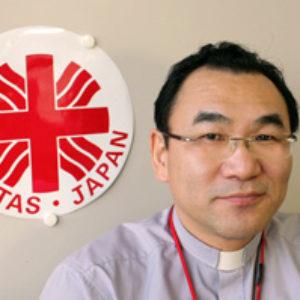 Entrevue avec Monseigneur Isao Kikuchi, président de Caritas Japon