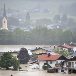 Caritas supports victims of flooding disaster in Austria