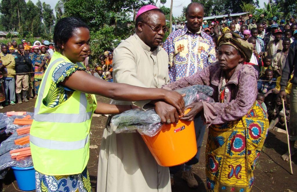 "Congo bishop urges peace:  ""In the name of God, let us live!"""