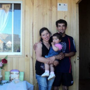 New homes for quake survivors in Chile