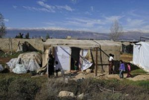 Life is hard for Syrian refugees in the Lebanese winter