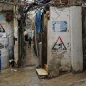 Nouveaux arrivants à Bourj el-Barajneh, le camp palestinien le plus peuplé du Liban