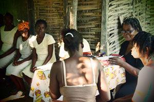 En el sur de Haití, las madres de familia son el elemento central de la estrategia de desarrollo.