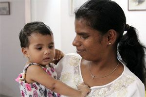 Trafficked from Sri Lanka to Jordan as a maid