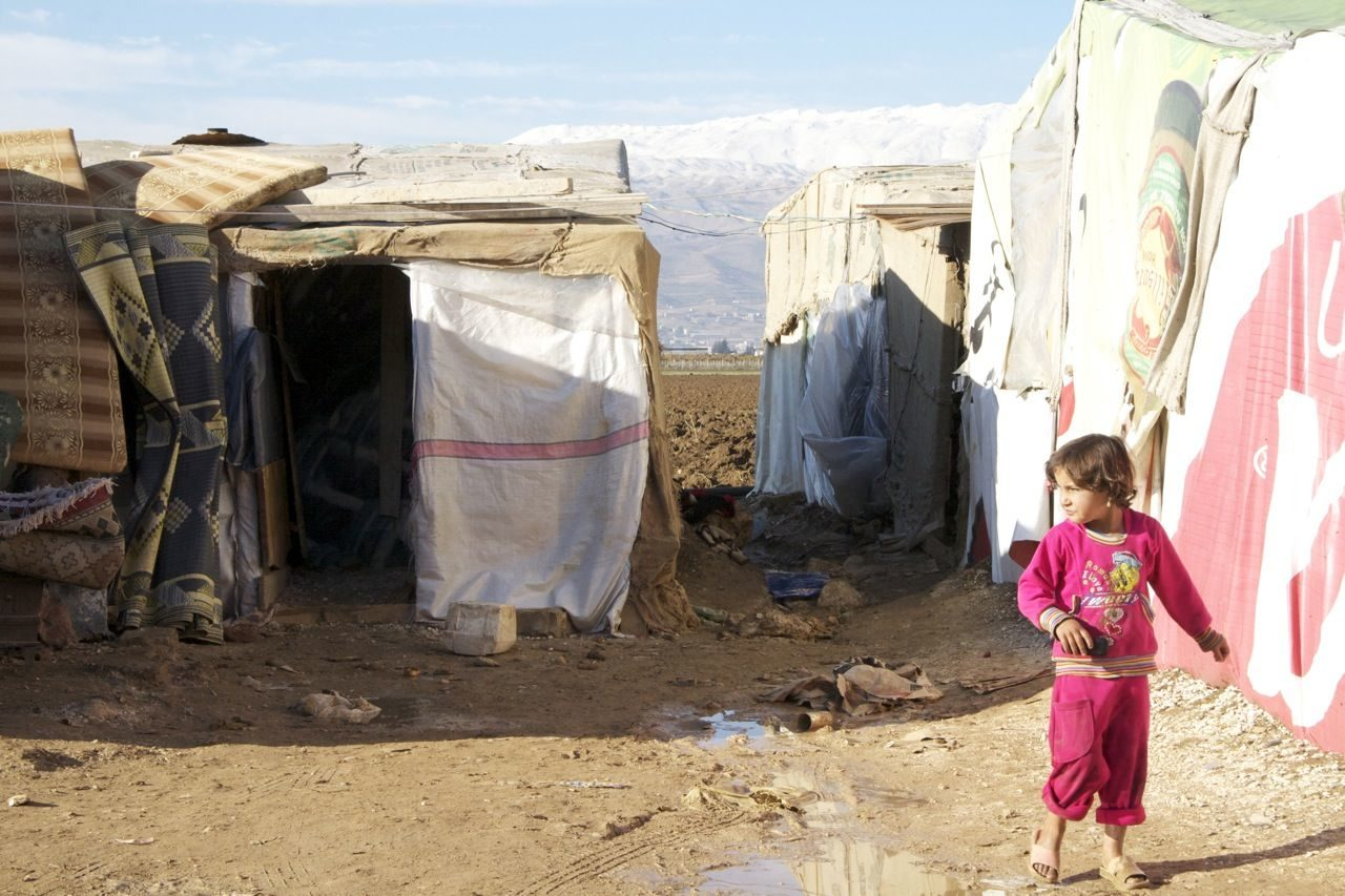 Temperature drop in Lebanon leaving Syrian refugees out in cold
