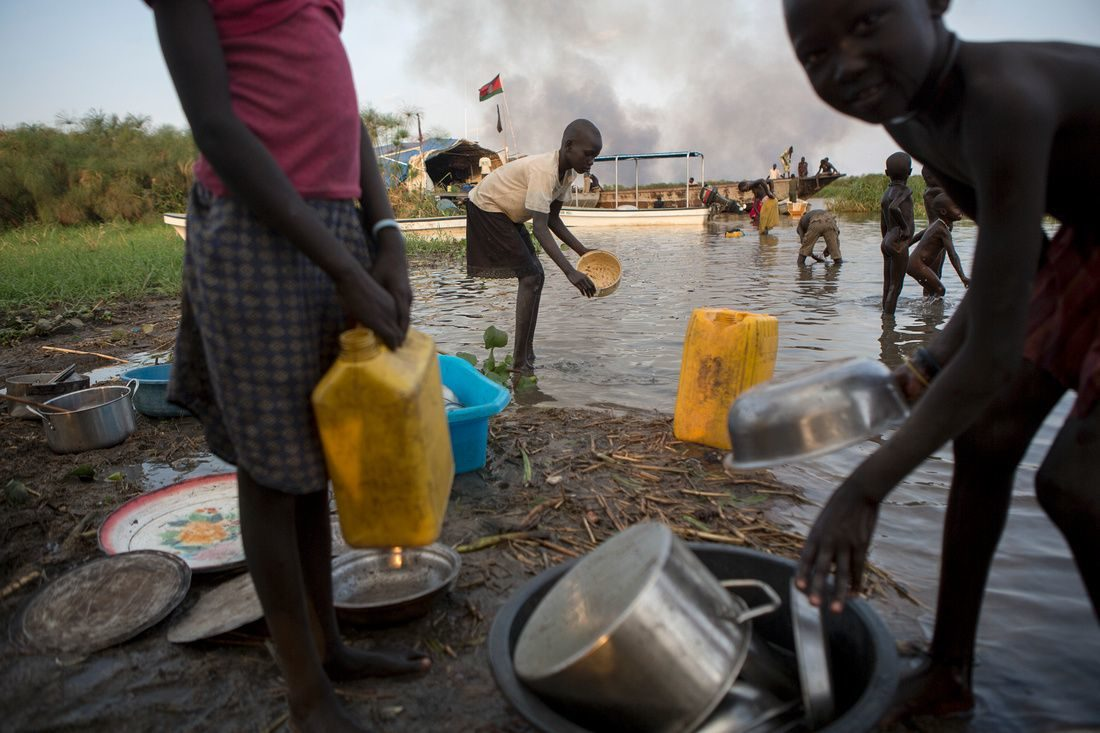 Aid gets through to South Sudan
