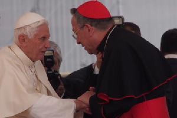 Pope Benedict encourages work of Caritas for those most in need