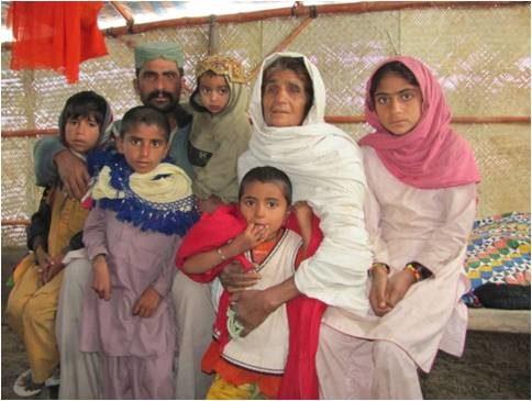 Pakistan floods: shelter saved us