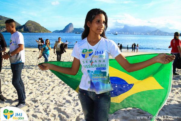 El futuro brillante de Caritas sigue al Papa Francisco a Brasil
