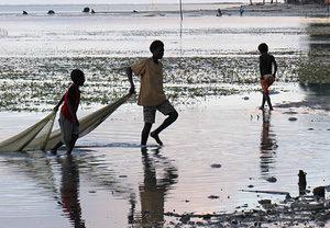 El paraíso perdido: la subida del nivel del mar amenaza las Islas Carteret, en el Pacífico