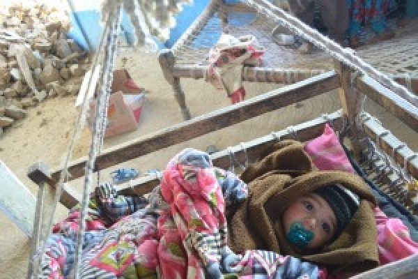 Quake survivors in Pakistan need winter help