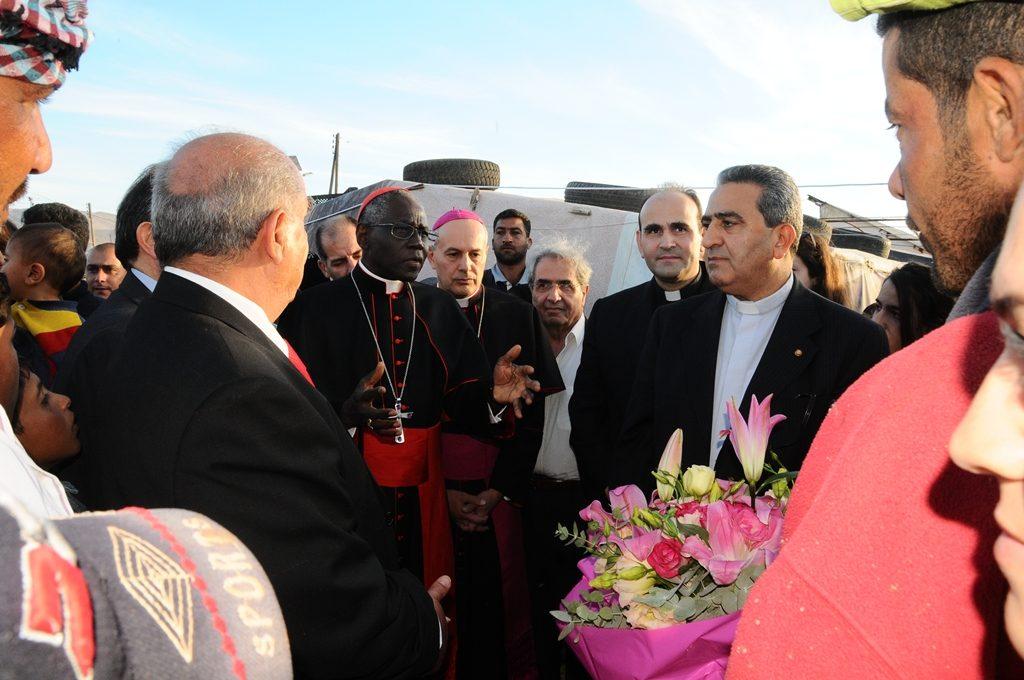 La crise des réfugiés syriens: La mission du cardinal Sarah au Liban