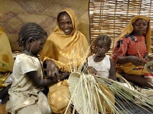 Aid against the odds in Darfur