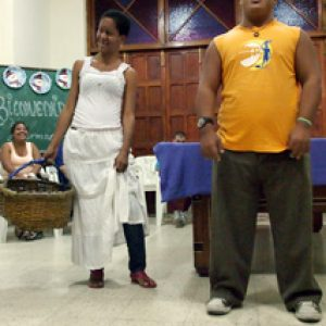 People with special needs supported by Caritas Cuba