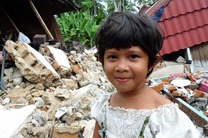 Progrès à Sumatra après le séisme