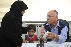 Ayudando a los sirios a evitar el frío