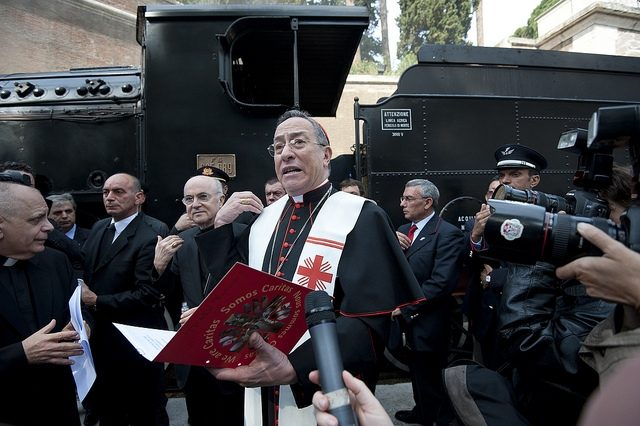 Trainspotting at the Vatican for Caritas' 60th anniversary